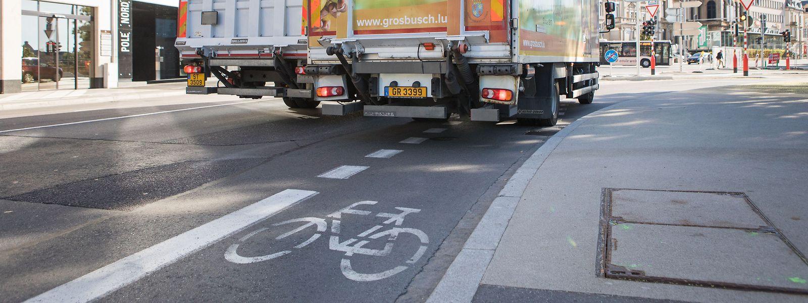 Eine neue Onlinekarte zeigt die 170 Kilometer Radwege in der Hauptstadt.