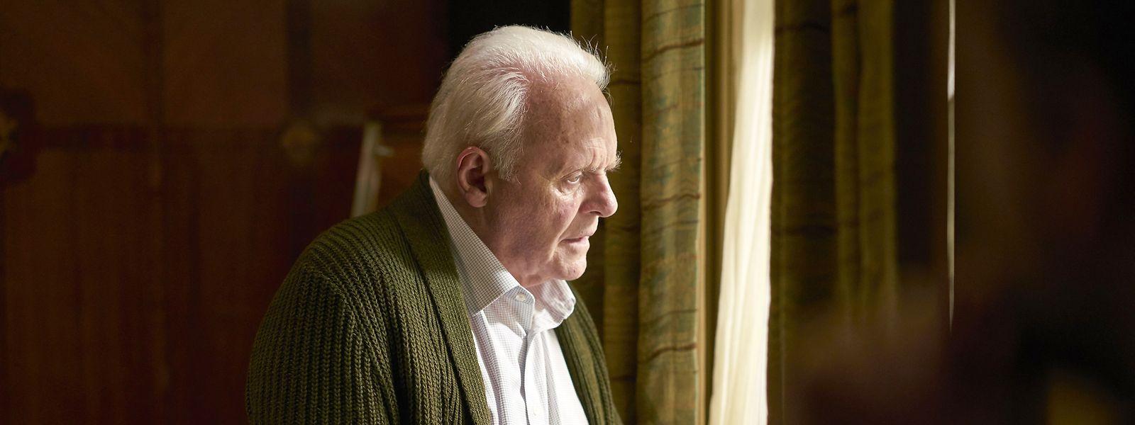 Anthony (Antony Hopkins) face à la maladie adopte un réflexe de refus.