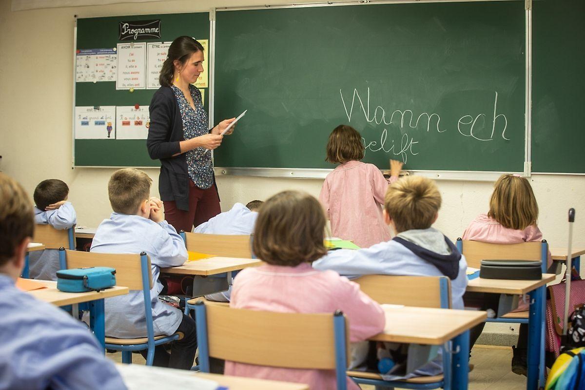 L'école Charlemagne s'est lancée en septembre dernier dans une expérience qui n'a encore jamais été réalisée au Luxembourg par une école francophone: enseigner la langue luxembourgeoise aux élèves, dès les classes de primaire.