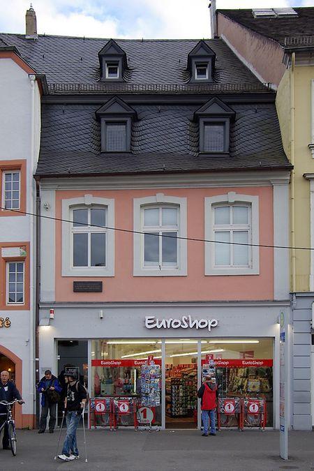 Wohnhaus der Familie Marx in Trier, Simeonstraße 8.