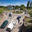 rond-point entrée centre Ville - Differdange - 17.06.2015 - © claude piscitelli
