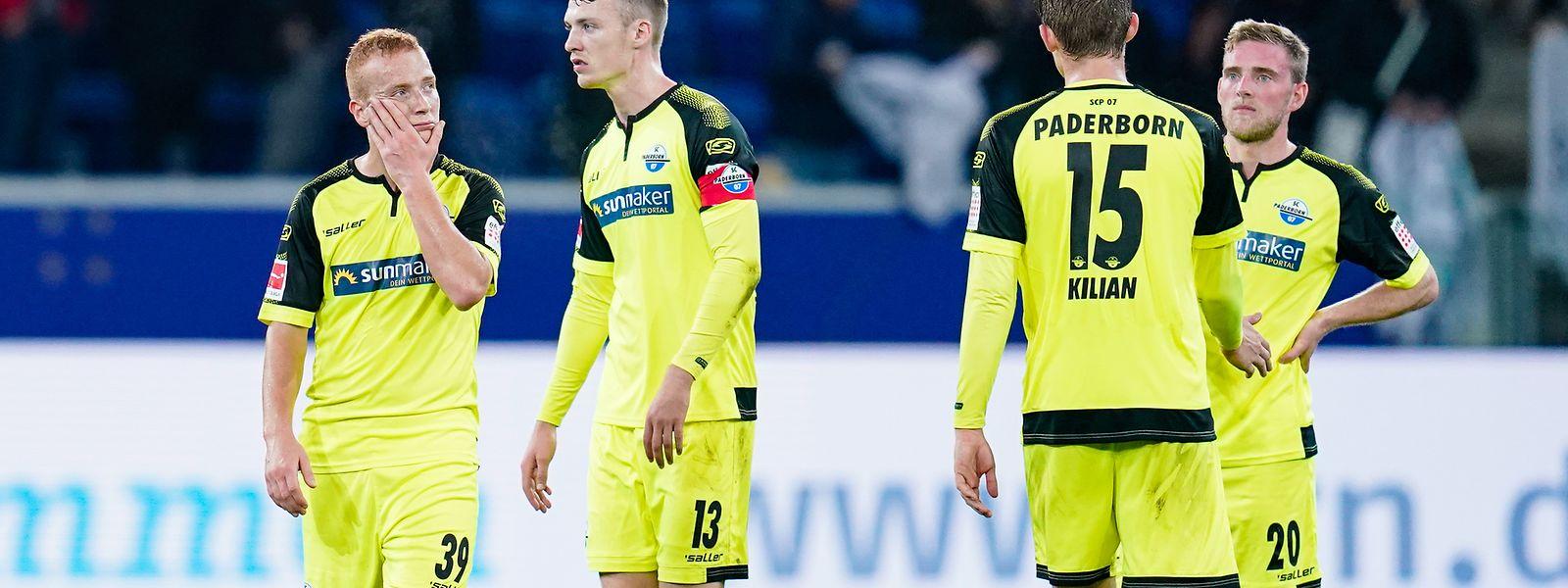 Laurent Jans (tout à dr.), des premières minutes en Bundesliga et une défaite (0-3) à Hoffenheim