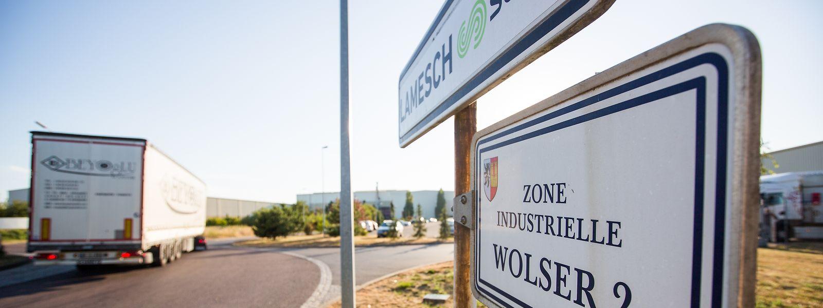 """Die größten nationalen """"Zones d'activités économiques"""": Wolser"""