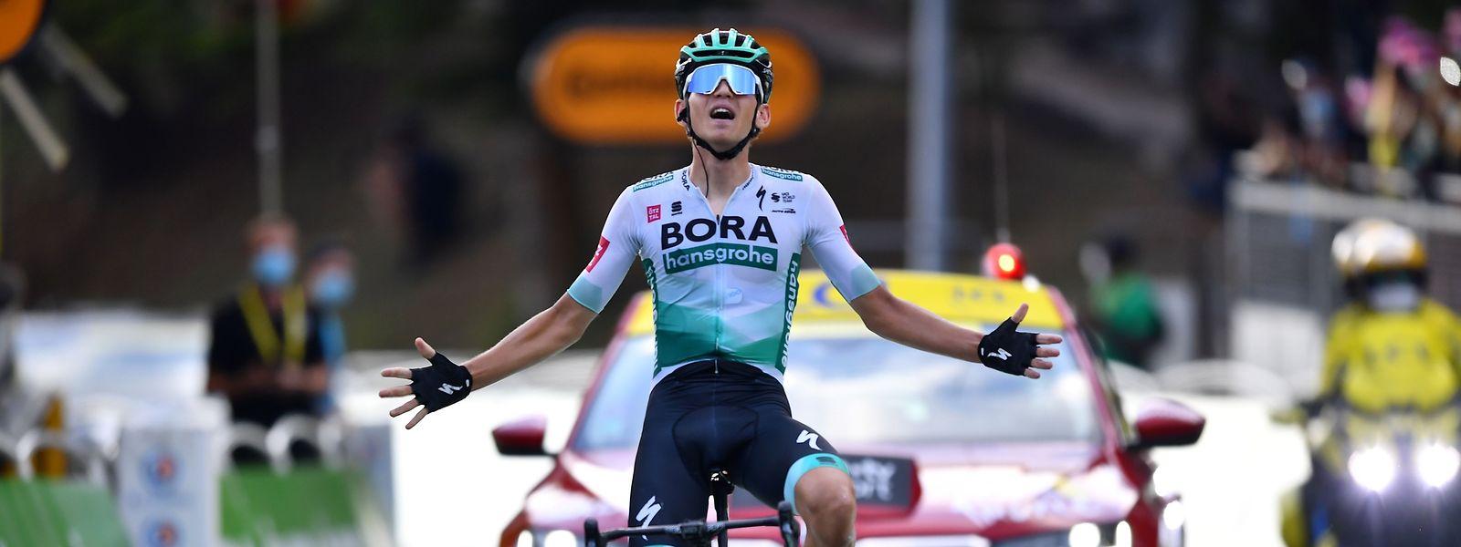 Lennard Kämna ist am Dienstag eindeutig der stärkste Fahrer.