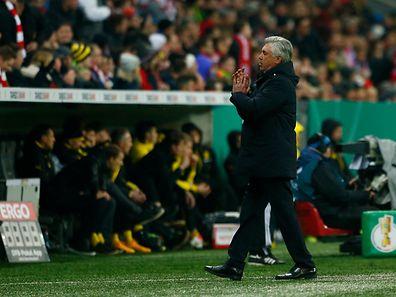 Bayern-Trainer Carlo Ancelotti war nach dem Ausscheiden bedient.