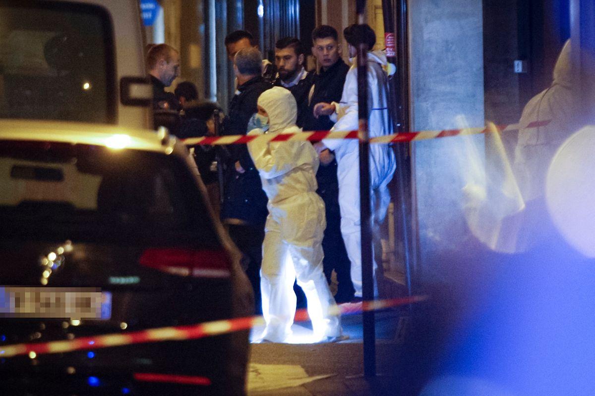 Das Attentat fand in der Rue de Monsigny statt.