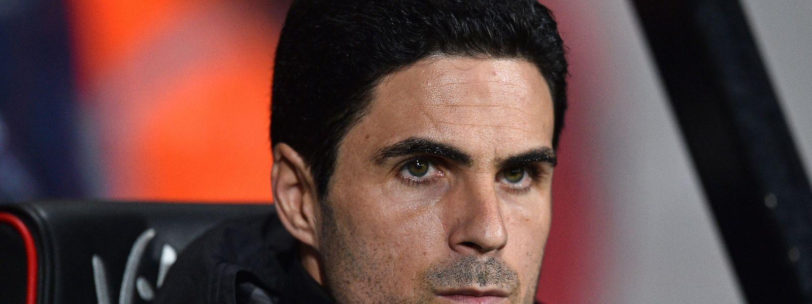 Mikel Arteta, treinador do Arsenal, é um dos infetados.