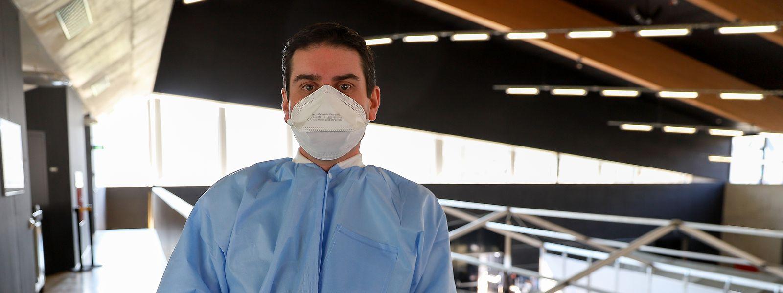 Dr. Pierre Hertz leitet die vier regionalen Behandlungszentren.