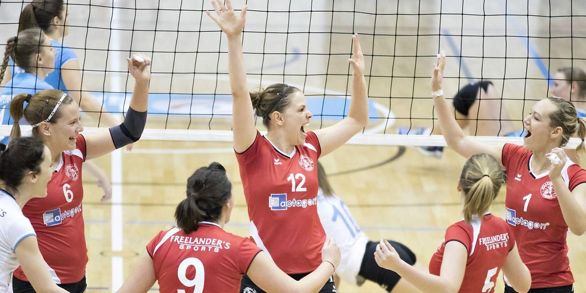 Anne Hasdorf (12) und Mamer gewann gegen Steinfort.
