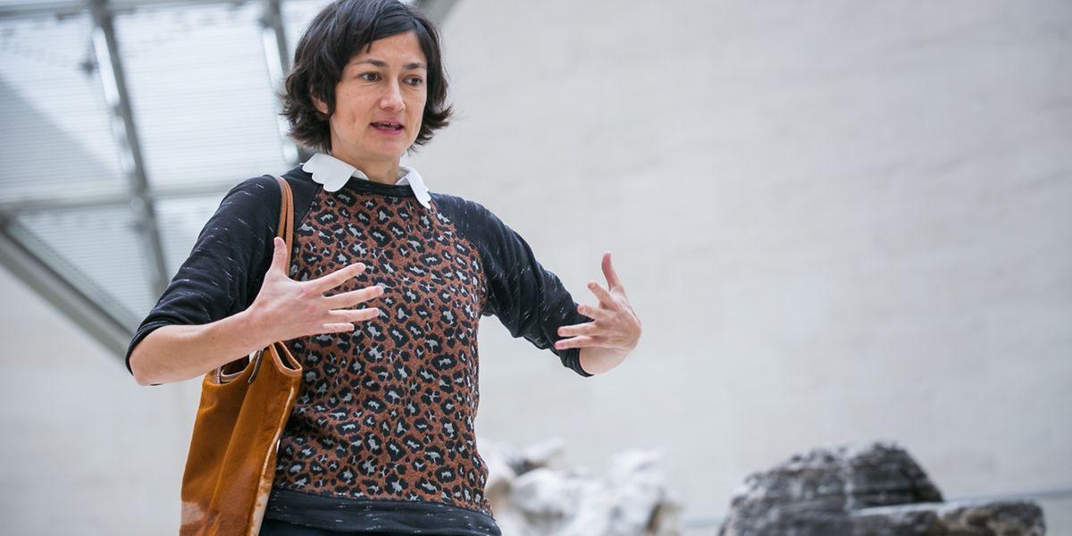 Su-Mei Tse erklärt uns höchstpersönlich vier ihrer Werke, die Besucher der Museumsnacht im Mudam entdecken können.