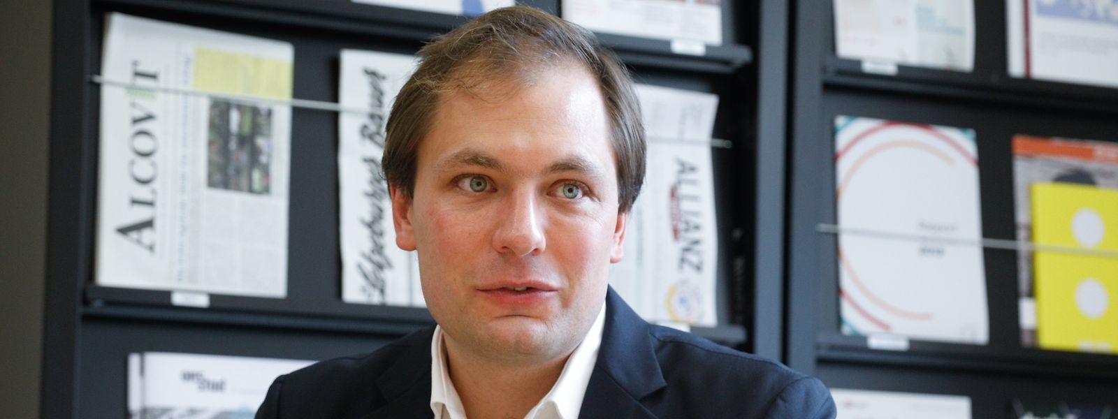 A 35 ans, le député Déi Gréng François Benoy a la chance et la responsabilité