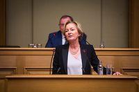 Chamber, Regierungserklärung zur Kooperationspolitik -  Paulette Lenert - Foto: Pierre Matgé/Luxemburger Wort