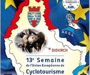 Stop à Larochette de la 13e semaine européenne du cyclotourisme