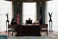 Als US-Präsidentin will Claire Underwood Gutes tun – ob sie es wirklich schafft?