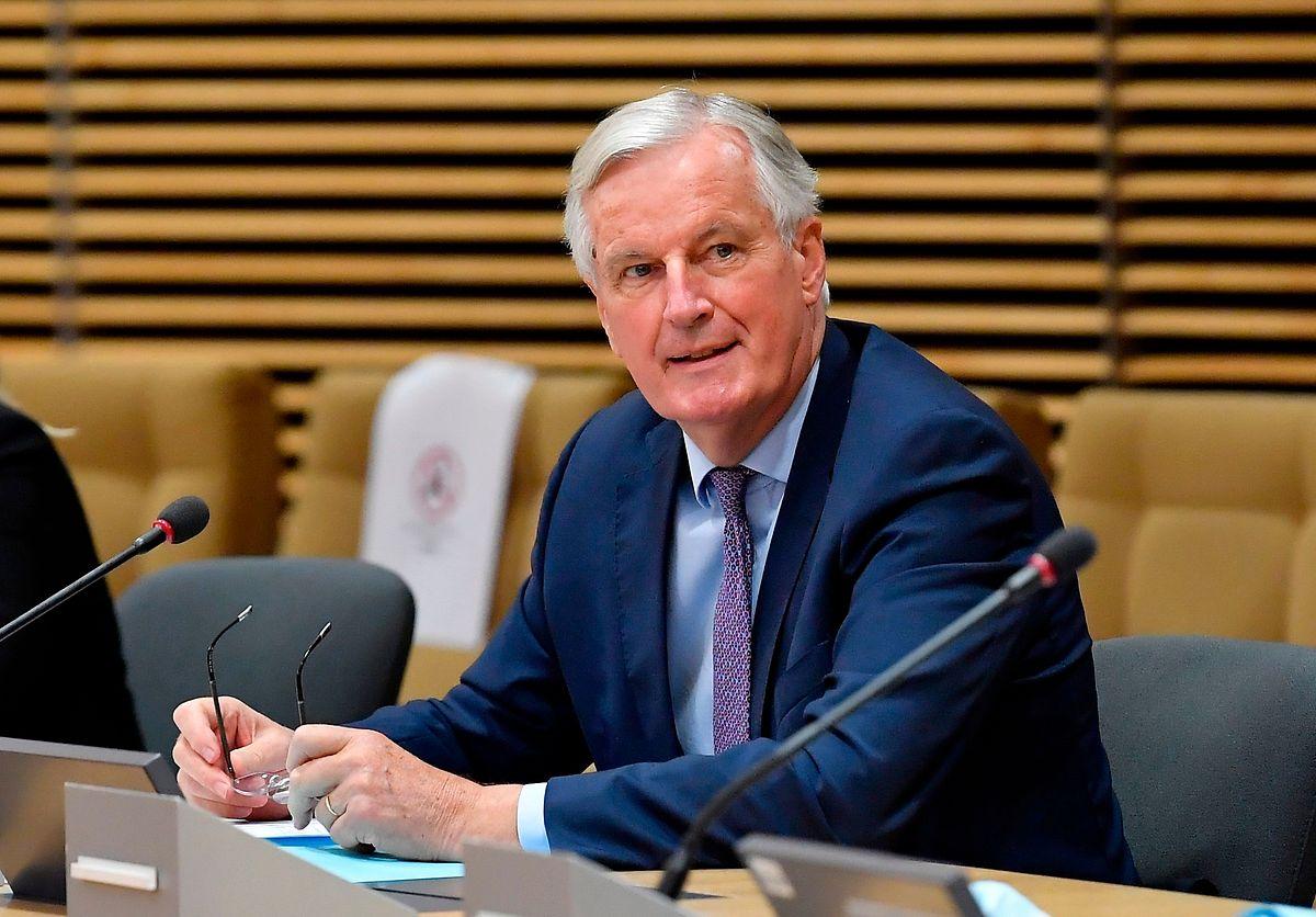 """""""Wir werden in den nächsten Wochen und Monaten das meiste aus unseren intensivierten Gesprächen herausholen"""", so der EU-Unterhändler Michel Barnier."""