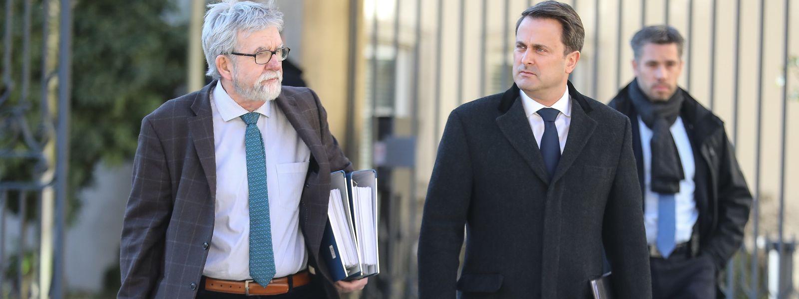Le duo Waringo-Bettel a présenté ses conclusions au Parlement