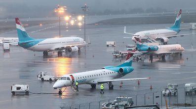 Bisher ist die Luxair mit Maschinen von Embraer, Bombardier und Boeing unterwegs. Nächstes Jahr könnte über ein Refleeting entschieden werden.
