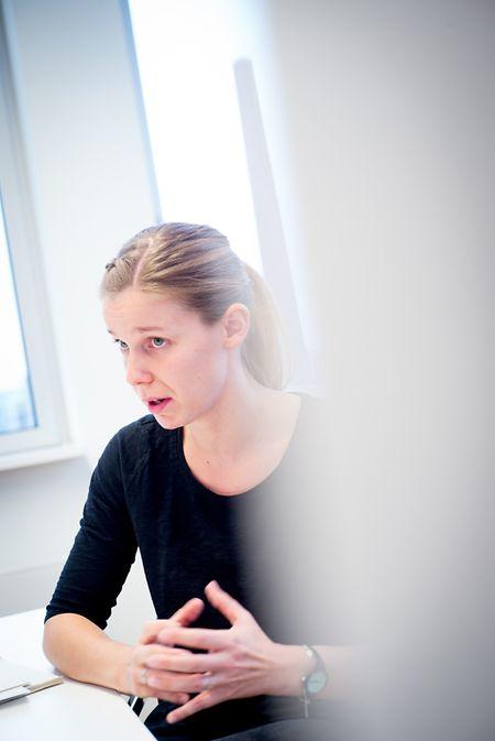 Stéphanie Goergen: «Les déchets alimentaires que les gens jettent dans la poubelle grise ont une valeur monétaire de 60 millions d'euros par an.»