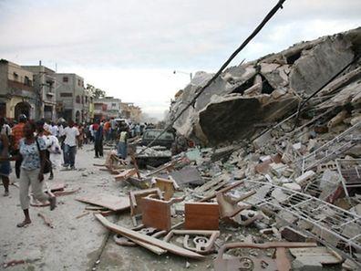 Das Erdbeben hatte eine gewaltige Zerstörungskraft.