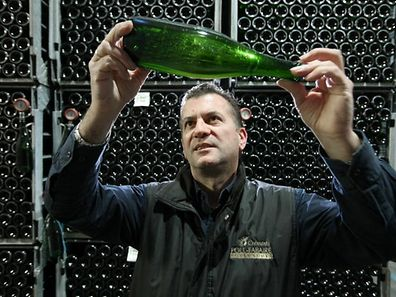 Cremant, Vinsmoselle. Production de crémant. Guido Sonntag. Photo Guy Wolff