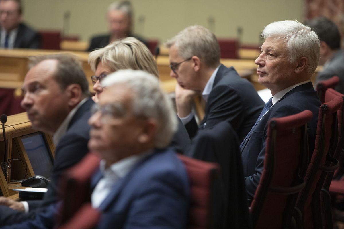 Die Opposition, allen voran die CSV, sieht die Haushaltsvorlage für das kommende Jahr eher skeptisch.