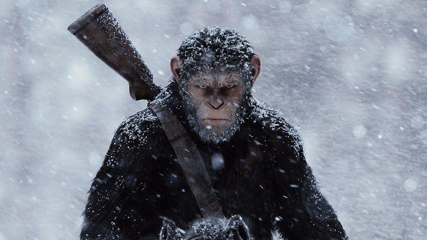 """Der dritte Teil der neu gestarteten Science-Fiction-Reihe """"Planet of the Apes""""  ist noch düsterer als seine beiden Vorgänger."""