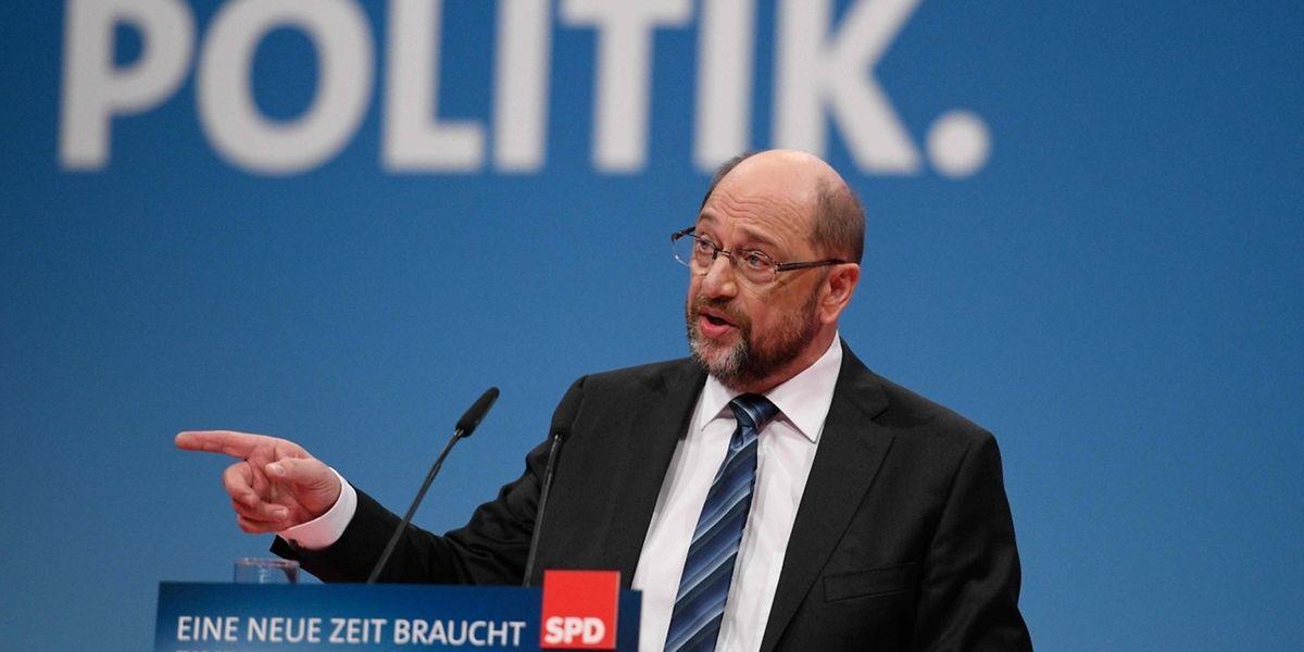 Martin Schulz will Neuwahlen verhindern.
