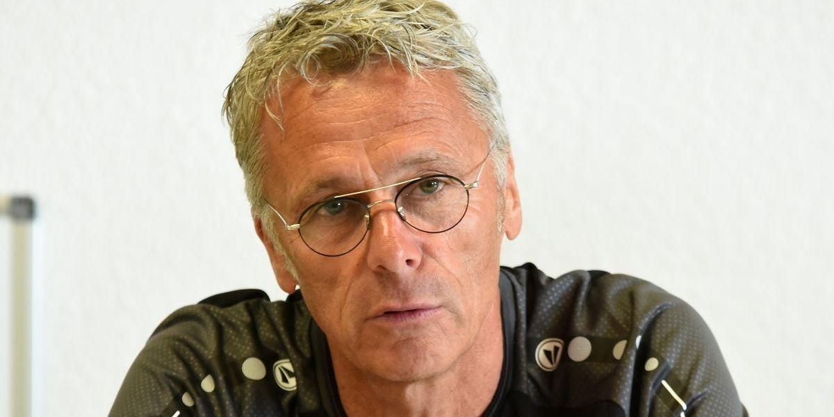 Marc Grosjean est chargé de mener l'Excelsior Virton en D1B, l'antichambre de l'élite belge.