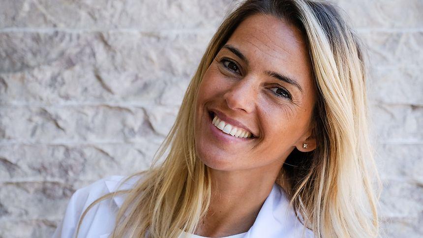 Rita Andrade trocou a apresentação de televisão pela profissão de nutricionista.