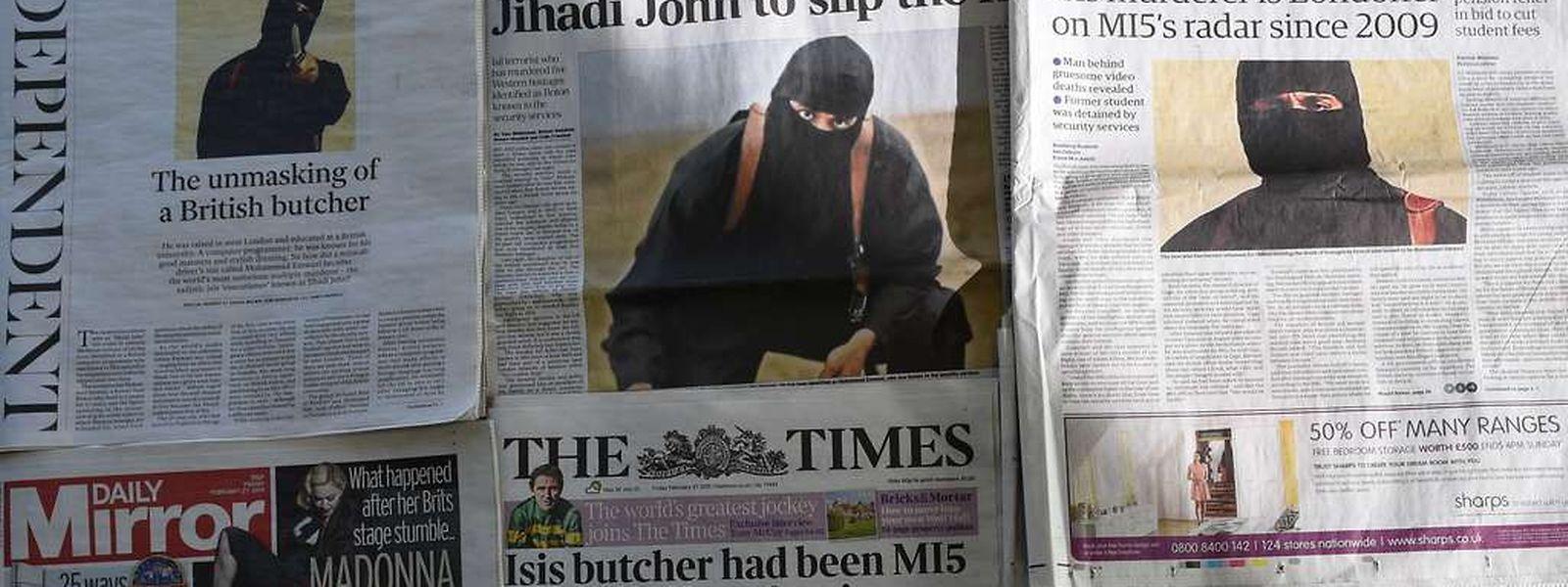 """Auch wenn die Geiseln freigelassen sind, wird nach """"Jihadi John"""", dem maskierten Mörder, der im Auftrag internationale Geiseln vor der Videokamera tötete, weiter."""