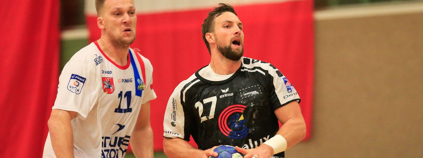 Moritz Barkow war trotz der knappen Niederlage einer der Aktivposten.