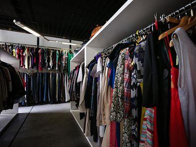 Vintage M(o)od : la première boutique de seconde main de la Croix-Rouge - Photo : Pierre Matgé