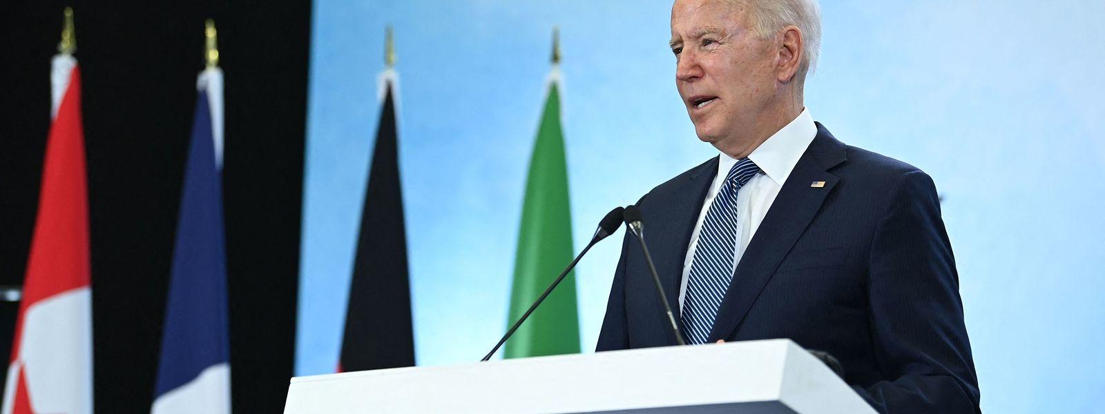 Die US-Regierung unter Joe Biden ist einer der Antreiber bei den Bemühungen um eine globale Mindeststeuer.