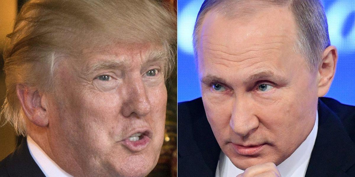 Wieder hat Donald Trump eine Lobeshymne auf den Kreml-Chef gesungen.