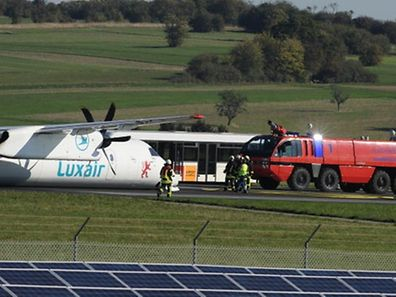No-one onboard was injured during the accident