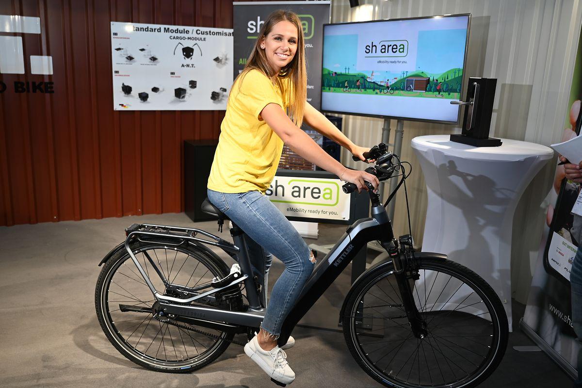Bike-Sharing und Fahrradleasing im Fokus: «Sharea» heißt ein neues Konzept, das auf der Eurobike erstmals vorstellt wird.