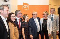 IPO , Niederanven , am Sand , Neujahrsempfang CSV , Pot Nouvel An , Jean Claude Juncker Foto: Guy Jallay/Luxemburger Wort