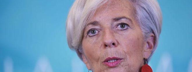Christine Lagarde lidera o Fundo Monetário Internacional.