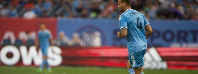 Une défaite et un carton jaune pour Maxime Chanot, ce dimanche dans le derby de New York en MLS