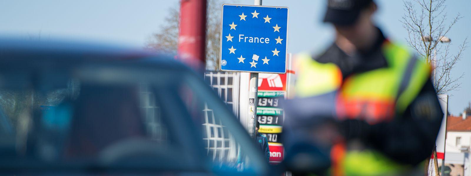 Die deutsch-französische Grenze im Saarland ist dicht.