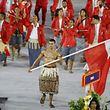Pita Taufatofua war bei den Olympischen Spielen in Rio Fahnenträger von Tonga.