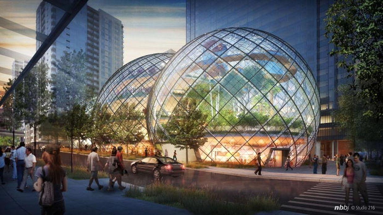 Un projet inédit pour le futur siège d'Amazon.