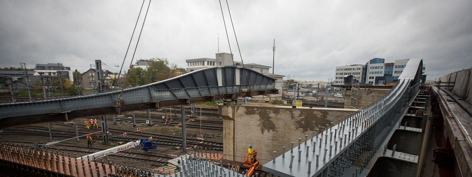 Travaux Pont Buchler - Foto: Pierre Matgé/Luxemburger Wort