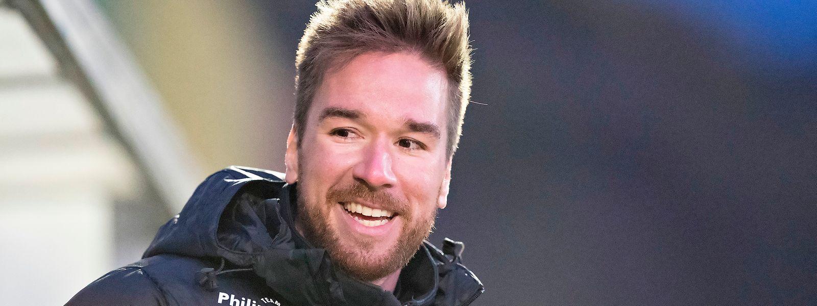 """Marcus Weiss (Trainer von Mertert-Wasserbillig): """"Es ist wichtig, dass meine Spieler mit einem klaren Kopf agieren und nicht nervös sind."""""""