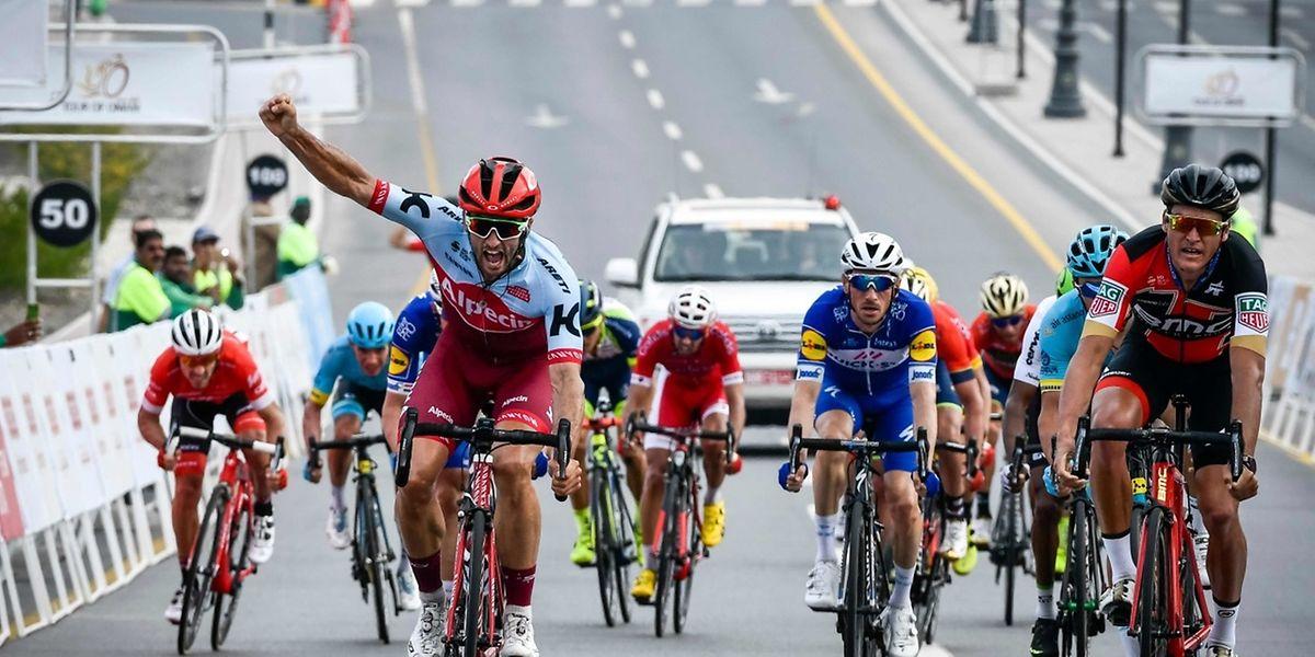 Succès d'étape et une première place au général, Nathan Haas a réussi la course parfaite.