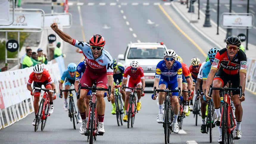 Nathan Haas s'offre la 2e étape devant Van Avermaet — Tour d'Oman