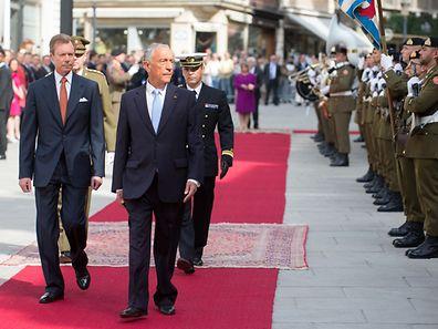 Visite d'Etat du President de la Republique du Portugal. Foto:Gerry Huberty
