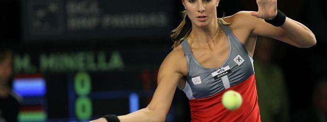 Mandy Minella (hier bei den Luxembourg Open 2012) erreichte in Las Vegas problemlos die zweite Runde.