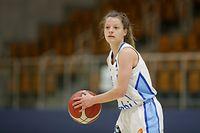 Nadine Bourg (Walfer #5) Portrait / Basketball, Luxemburg,Total League Frauen, Saison 2020-2021, Halbfinale / 12.05.2021 /Residence Walferdingen - Musel Pikes / Centre sportif Prince Henri, Walferdingen /Foto: Ben Majerus