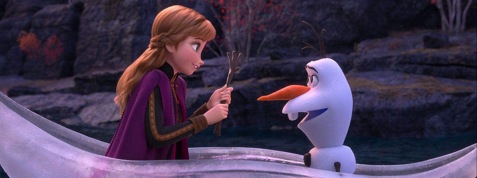 Anna et Olaf assisteront Elsa dans sa quête.